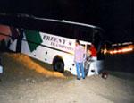 В Египте перевернулся и сгорел автобус с туристами из России