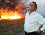 Ющенко запретил Черноморскому флоту передвигаться по Крыму без разрешения Украины