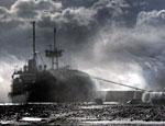 Российский военный корабль подал сигнал SOS в Эгейском море
