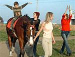В Луганске для детей, страдающих ДЦП, откроют центр иппотерапии