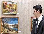 В Бендерской картинной галерее открылась выставка 15-летнего художника