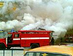 В центре башкирской столицы загорелся рынок