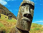 Финский турист оставил статую без уха