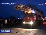 Спустя сутки пожар на махачкалинской нефтебазе потушен