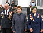 Жители Тирасполя чествуют воинов, освободивших город от немецко-румынской оккупации