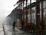 В Харькове пожар уничтожил 200 магазинов детских товаров