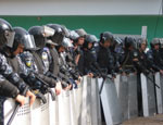 В Бахчисарае подрались милиционеры и противники строительства мусороперерабатывающего завода