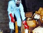 В Харькове обнаружили нелегальное производство ядохимикатов