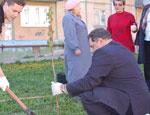 Средний Урал: в Березовском почетные граждане города возьмутся за посадку деревьев