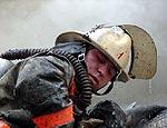 Квартира горит на востоке Москвы