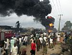 В Нигерии 100 человек сгорели заживо при взрыве нефтепровода