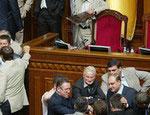 Теперь трибуну Рады собирается блокировать Партия регионов