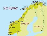 Россиянам упростили поездки в Норвегию