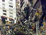 Строительный кран упал на 23-этажный дом в Нью-Йорке