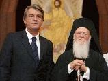 Православные критикуют Константинопольского Патриарха за контакты с Ющенко