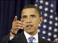Обама лидирует по расходам на избирательную кампанию