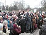 В Москве осетины организовали стихийный митинг возле здания МИД РФ