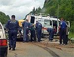 В Николаевской области в автоаварии погибли 4 человека и двое ранены