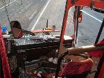 В Магадане сгорел пассажирский автобус