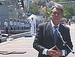 Ющенко хочет увеличить цену за базу Черноморского флота в Крыму