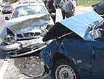Под Запорожьем в автоаварии пострадали 9 человек