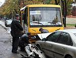 В Одессе из-за превышения скорости в автоаварии пострадали пять человек