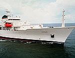 В Севастополь зашел корабль-разведчик США (ФОТО)