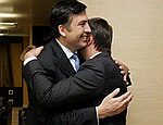 Российские военные остановили делегацию партии Ющенко в Грузии