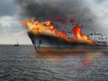 При пожаре на корабле ТОФ во Владивостоке погибли два матроса
