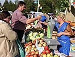 Ярмарки сельхозпродукции возобновили работу в Дубоссарах
