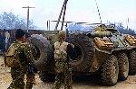 В Дагестане ведутся поиски боевиков, напавших на милиционеров