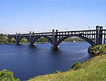 В Запорожье очередной самоубийца спрыгнул с моста через Днепр