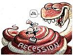 Европу накрыла рецессия. Первыми жертвами станут Великобритания и Прибалтика