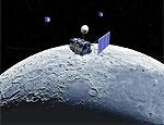 Индийский лунный зонд доставил спускаемый аппарат
