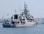 К берегам Грузии подойдет американский крейсер