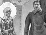 В питерском храме появилась икона со Сталиным (ФОТО)