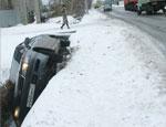 В Свердловской области – всплеск ДТП с опрокидыванием машин