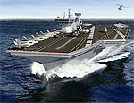 Финансовый кризис замедлит строительство британских суперавианосцев