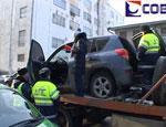 В ходе погрома на улицах Екатеринбурга водитель иномарки протаранил 10 машин, – уточненные данные ГИБДД