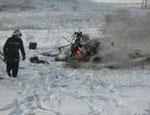 В Донецкой области разбился вертолет. Погиб пилот