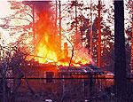 Поджигатель, спаливший в Прикамье вместе с домом старушку, осужден на 3 года и 4 месяца