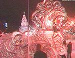 В Челябинске прошёл конкурс на лучший ледовый городок