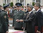 Наливайченко рассказал, почему посол США вручает погоны офицерам СБУ