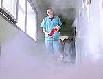 В Пермском районе стоматолог пострадал при тушении одежды на вешалке