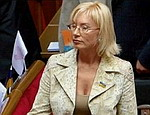 Денисова опровергает данные Ющенко о проблемах с выплатами пенсий на Украине