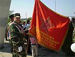 Ко Дню Победы в Рыбницу доставили боевое знамя подразделения, освобождавшего город в 1944 году