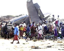 В Индонезии разбился самолет, есть погибшие
