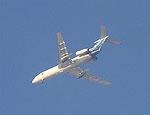 Самолет рейсом Москва-Пермь вернулся в аэропорт из-за птицы в двигателе