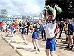 72-летний бендерский спортсмен-гиревик стал пятикратным чемпионом России