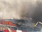 В Симферополе сгорел супермаркет-убийца, не введенный в эксплуатацию (ФОТО)